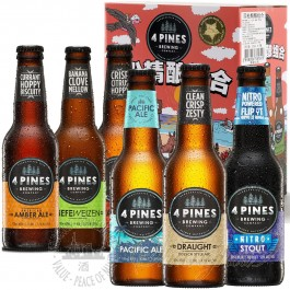 6 bottles of 4 Pines Mixed Pack