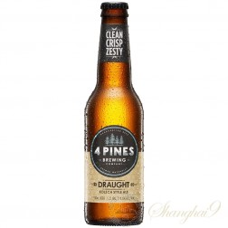 One case of 4 Pines Draught Kolsch Style Ale