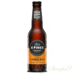 One case of 4 Pines American Amber Ale