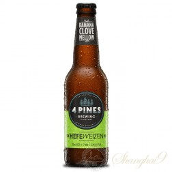 One case of 4 Pines Hefeweizen
