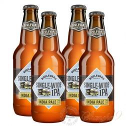 4 bottles of Boulevard Single-Wide IPA
