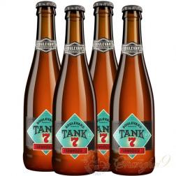 4 bottles of Boulevard Tank 7 Farmhouse Ale