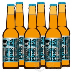 6 bottles of Brewdog Punk IPA