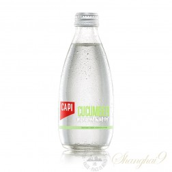 One case of CAPI Cucumber Sugar Free Sparkling Mineral Water