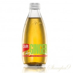 One case of CAPI Dry Ginger Ale Australian Premium Mixer