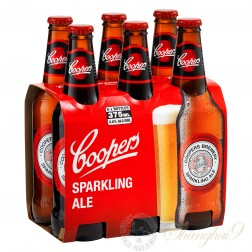 6 bottles of Coopers Sparkling Ale