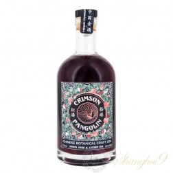Crimson Pangolin Chinese Botanical Craft Gin Peach Rose