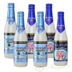 6 bottles of Delirium Tremens & Nocturnum Mixed Pack
