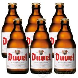 6 bottles of Duvel