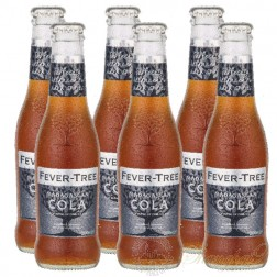 6 bottles of Fever Tree Madagascan Cola