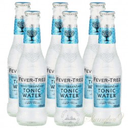 6 bottles of Fever Tree Mediterranean Tonic Water
