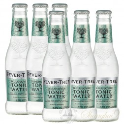 6 bottles of Fever Tree Elderflower Tonic Water