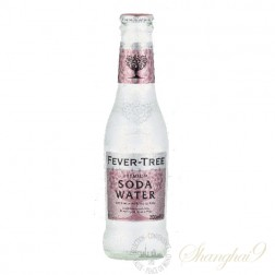 One case of Fever Tree Soda Water