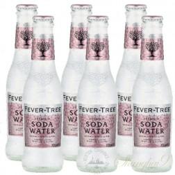 6 bottles of Fever Tree Soda Water