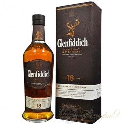 Glenfiddich 18 Year Old Single Speyside Malt Scotch Whisky
