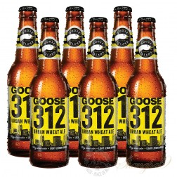 6 Bottles of Goose Island 312 Urban Wheat Ale