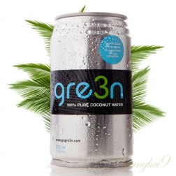 Gre3n 100% Pure Coconut Water (24x330ml cans)