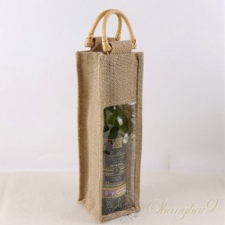 Hemp Gift Bag - One Bottle