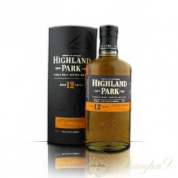 Highland Park 12 Year Old Single Isle of Orkney Malt Scotch Whisky
