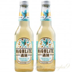 2 bottles of Highlite Sparkling Mate Tea