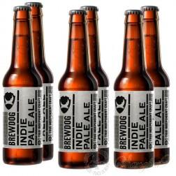 6 bottles of Brewdog Indie Pale Ale