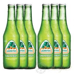 6 bottles of Jarritos Grapefruit Soda