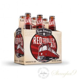 6 Bottles of Karl Strauss Red Trolley Ale