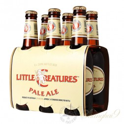 6 bottles of Little Creatures Pale Ale + One Little Creatures Glass