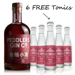 Peddlers Barrel Aged Gin (w/6 FREE East Imperial Burma Tonic)