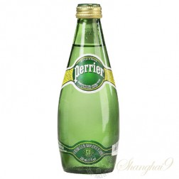 Perrier Sparkling Water  (330ml x 24 Glass Bottles)