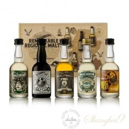 Douglas Laing's Remarkable Regional Malts Sampler Pack 5x50ml