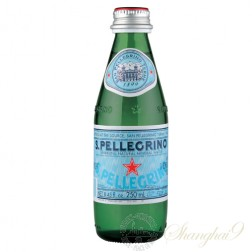San Pellegrino Sparkling Water (250ml x 24 Glass Bottles)