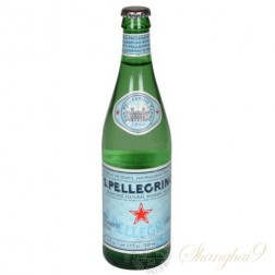 San Pellegrino Sparkling Water (500ml x 24 Glass Bottles)