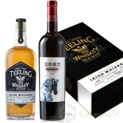 Teeling Silk Road Collection Ningxia Wine Cask Irish Whiskey Gift Box