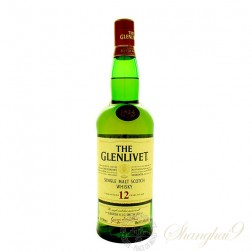 The Glenlivet 12 Year Old Single Speyside Malt Scotch Whisky