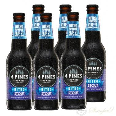 6 bottles of 4 Pines Nitro Stout