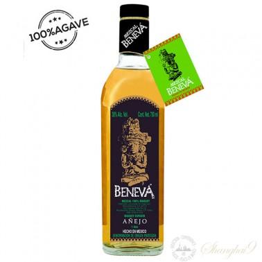 Beneva Mezcal Artesanal 100% Maguey Anejo