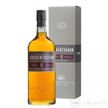 Auchentoshan 12 Year Old Single Lowland Malt Scotch Whisky