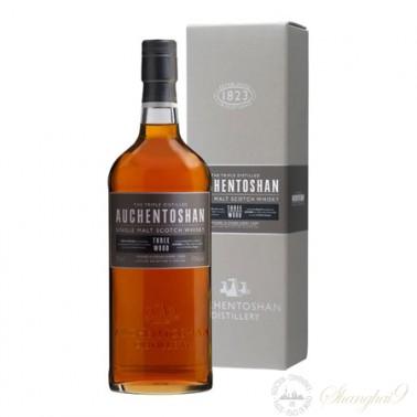 Auchentoshan Three Wood Single Lowland Malt Scotch Whisky