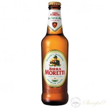 One case of Birra Moretti