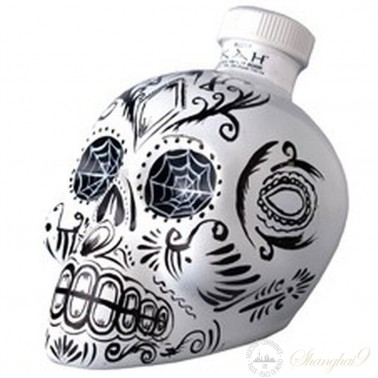 Kah Skull Blanco Tequila