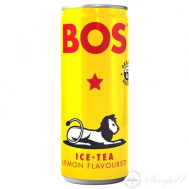 BOS Lemon Rooibos Ice Tea (24 x 300ml cans)