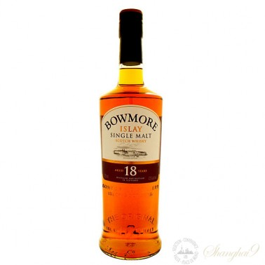 Bowmore 18 Year Old Single Islay Malt Scotch Whisky