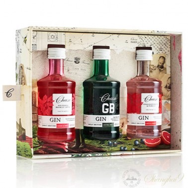 Chase Three Perfect Gin Serves Gift Set