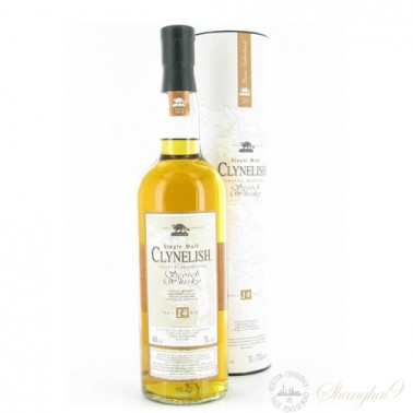 Clynelish 14 Year Old Coastal Highland Single Malt Scotch Whisky