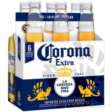 6 bottles of Corona