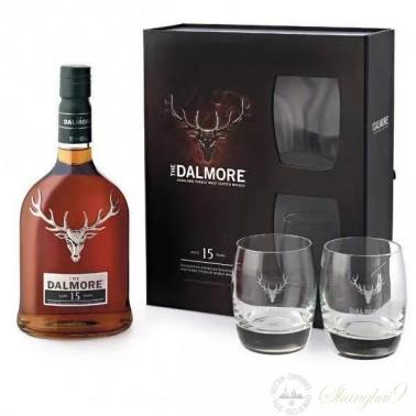 Dalmore 15YO Highland Single Malt Whisky Gift Set
