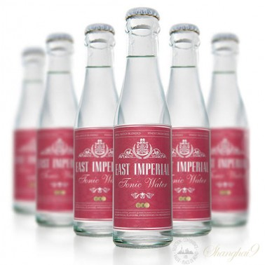 6 Bottles of East Imperial Burma Tonic Water