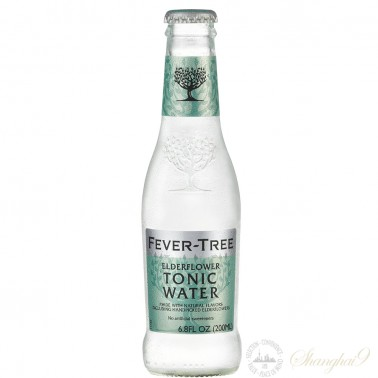 One case of Fever Tree Elderflower Tonic Water