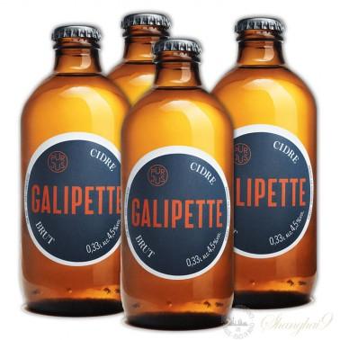 4 bottles of Galipette Brut Cidre / Cider